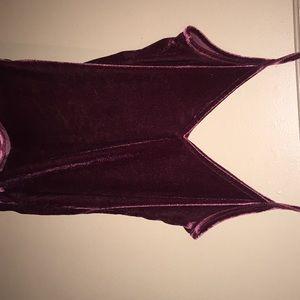 A velvet shirt